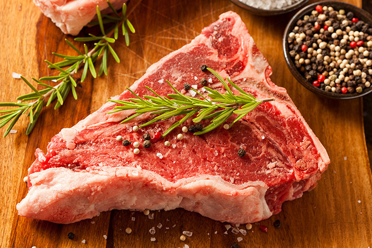 Beef T-Bone Steaks - USDA Choice