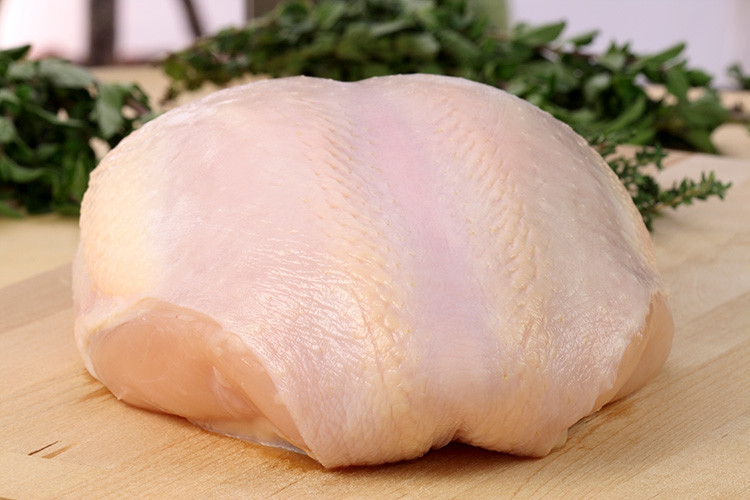 Bone In Turkey Breast - Frozen