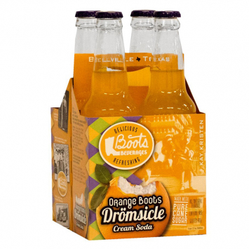 Boot's Dromsicle Orange Soda