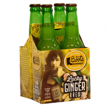 Boot's Lucky Ginger Soda