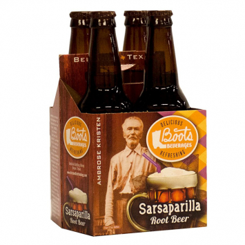 Boot's Sarsaparilla Soda