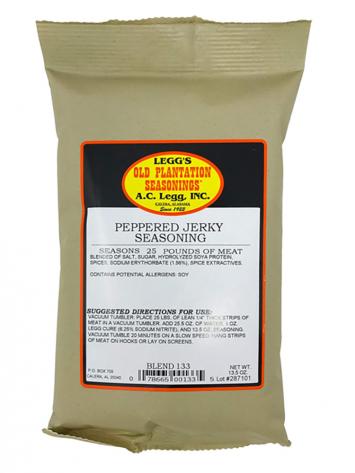 Legg's Peppered Jerky Seasoning