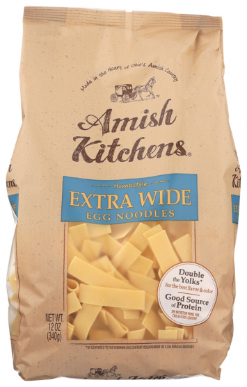 Amish Kitchens Extra Wide Egg Noodles