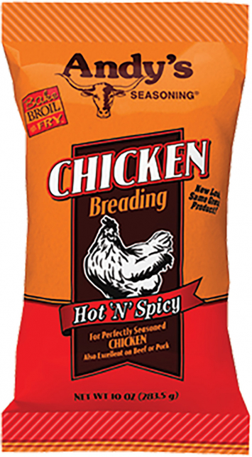 Andy's Hot & Spicy Chicken Breading
