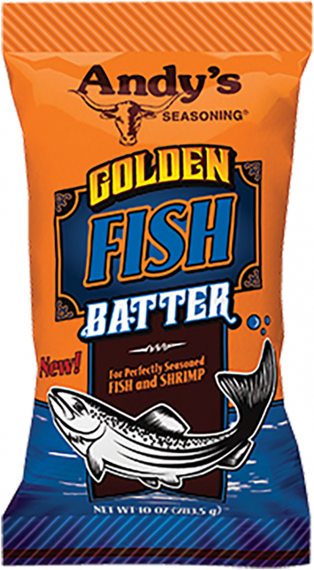 Andy's Golden Fish Batter