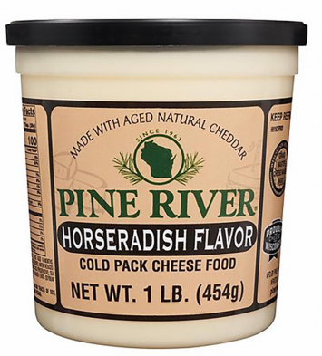 Pine River Horseradish Flavor Cheese Spread
