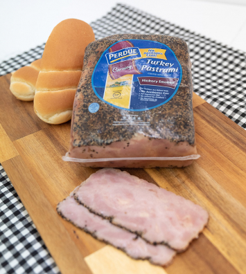 Deli Sliced Turkey Pastrami