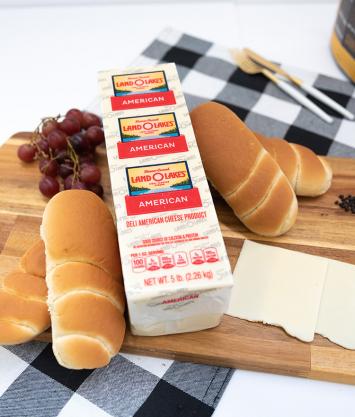 Deli Sliced White American Cheese