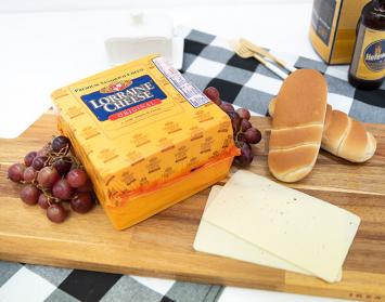 Deli Sliced Swiss Cheese - Lorraine