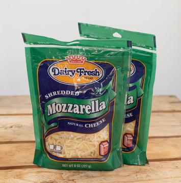 Dairy Fresh Shredded Mozzarella Cheese
