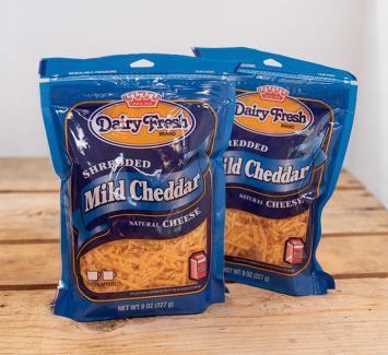 Dairy Fresh Shredded Mild Cheddar Cheese