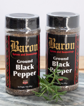 Baron Ground Black Pepper