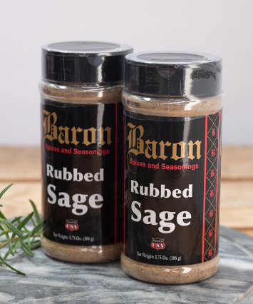 Baron Rubbed Sage
