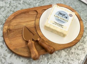 Cheese Block - Morel Mushroom & Leek