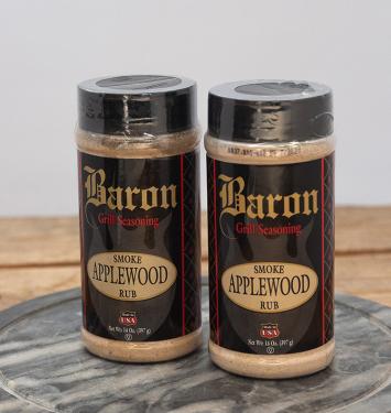 Baron Smoke Applewood Rub