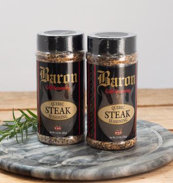 Baron Quebec Steak Seasoning