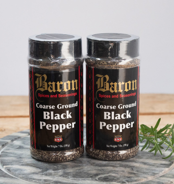 Baron Coarse Ground Black Pepper
