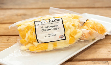 Cheese Curds - Mixed Cheddar