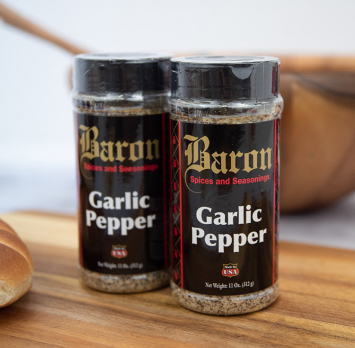 Baron Garlic Pepper