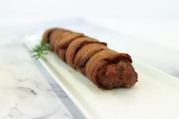 Store Made Smoked Bacon Wrapped Pork Tenderloin
