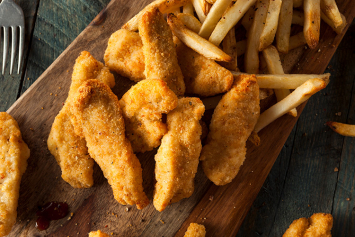 Breaded Chicken Strips