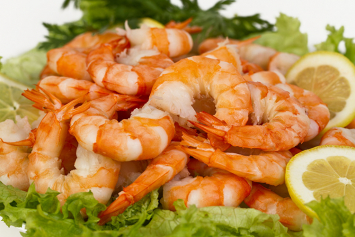 Wholey Cooked, Peeled, Deveined, Tail on Shrimp