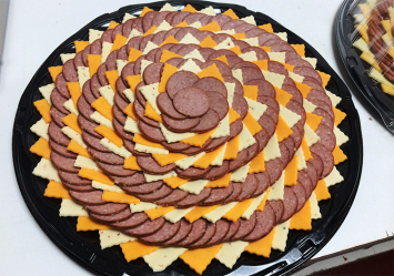 Sausage & Cheese Appetizer Tray