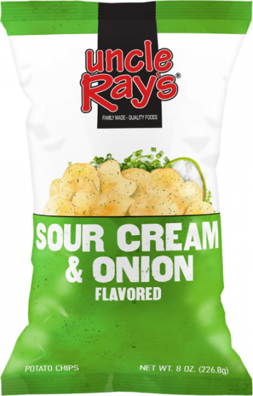 Uncle Ray's Sour Cream & Onion Chips