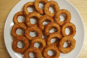 Breaded Chicken Rings