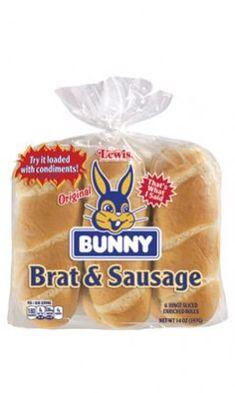 Bunny Brat & Sausage Buns