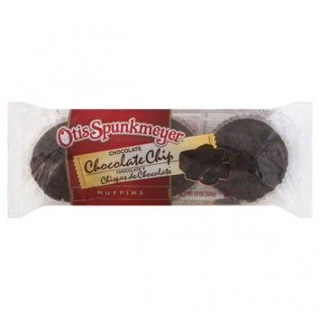 Otis Spunkmeyer Chocolate-Chocolate Chip Muffins