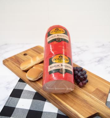 Deli Sliced - Eckrich Garlic Bologna