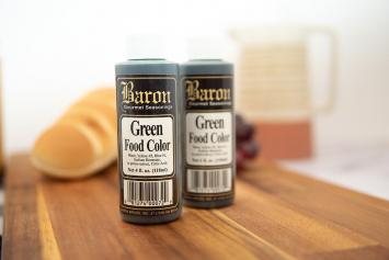 Baron Green Food Color