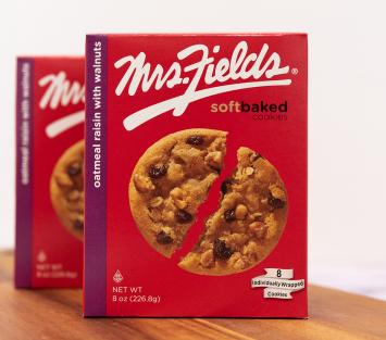 Mrs. Fields Oatmeal Raisin With Walnuts