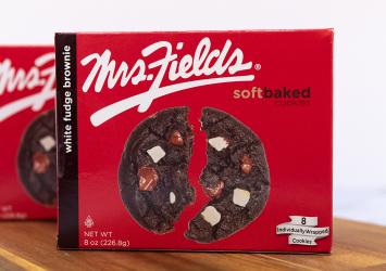 Mrs. Fields White Fudge Brownie