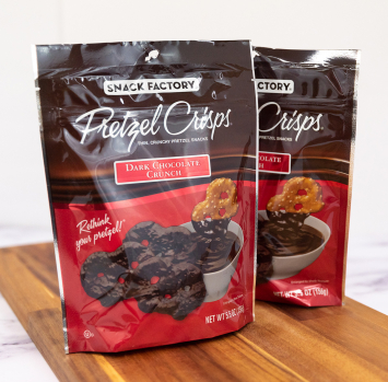 Dark Chocolate Crunch Pretzels