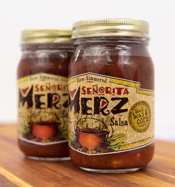 Senorita Merz Black Bean & Corn Salsa