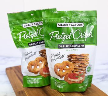 Snack Factory Garlic Parmesan Pretzel Crisps