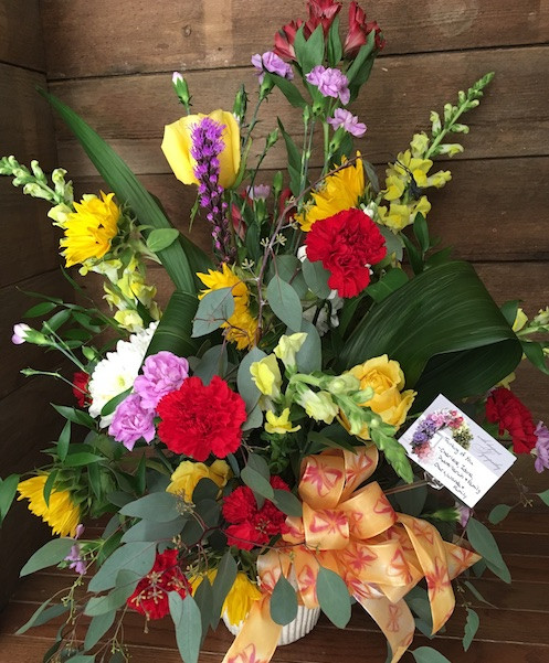 Farmers Choice-Mixed Floral Arrangement-Medium