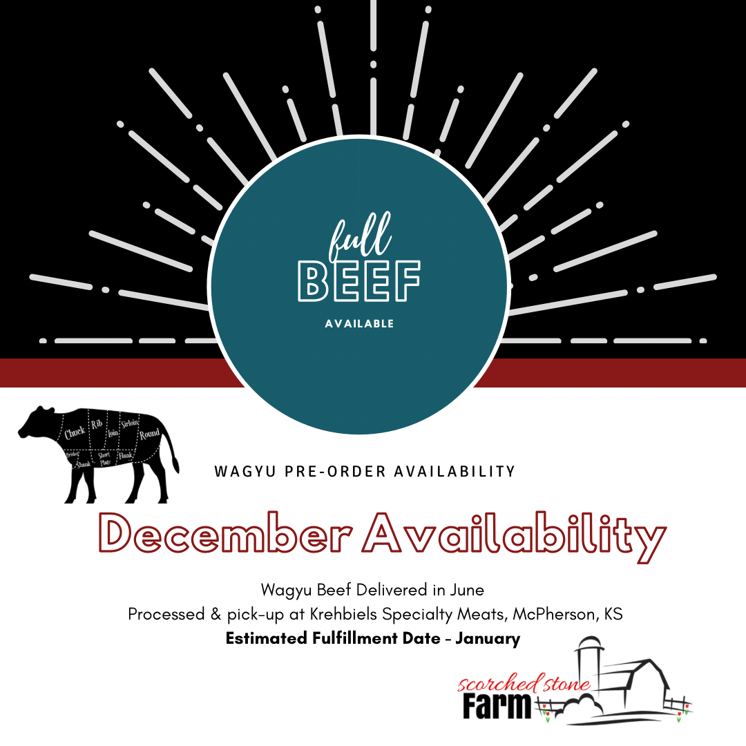 December Wagyu Availability