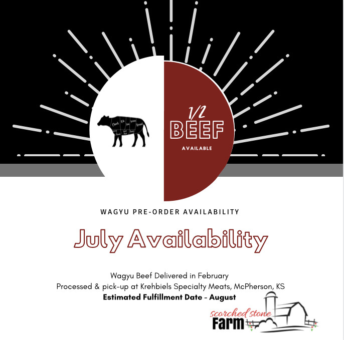 July Wagyu Availability