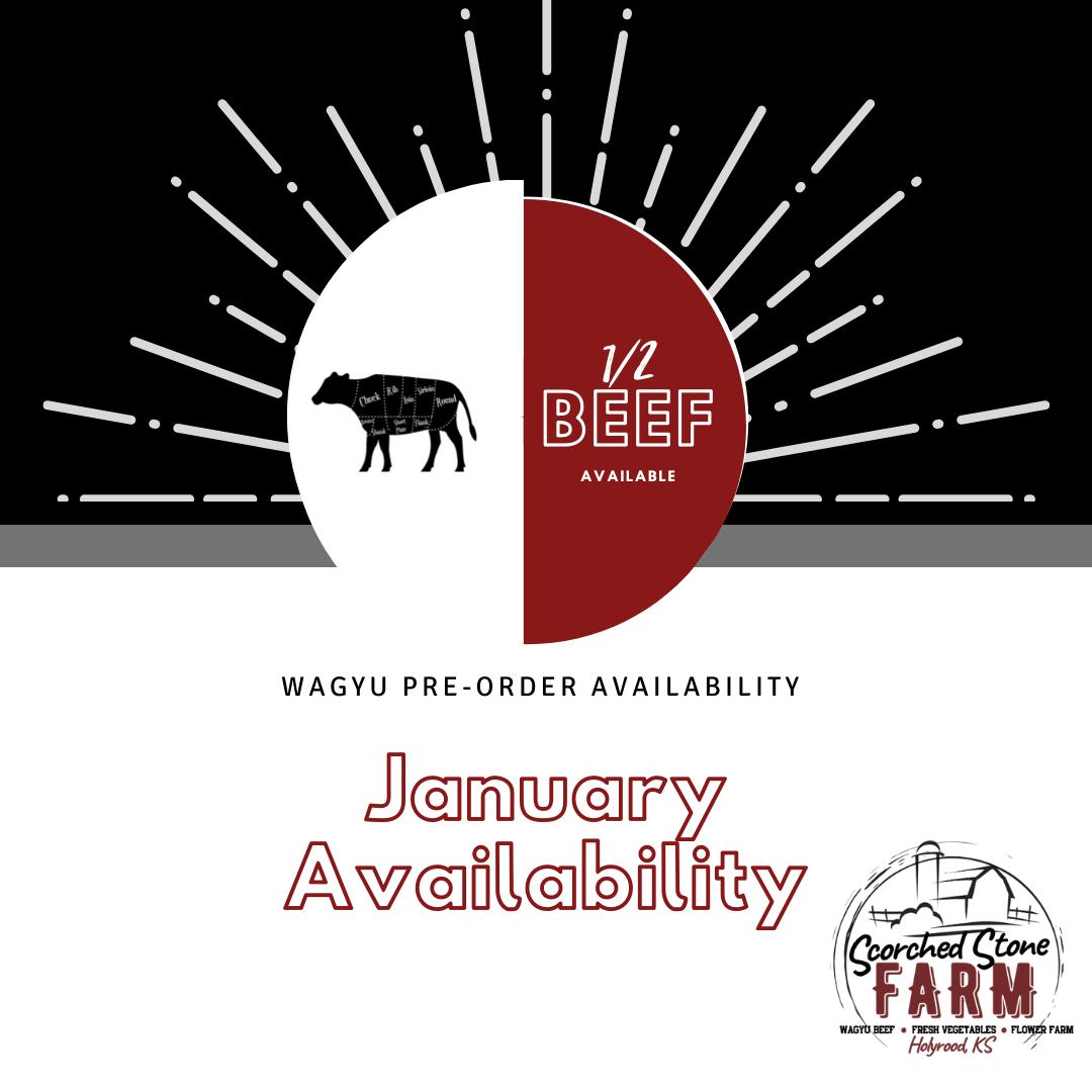January Wagyu Availability