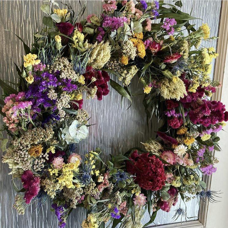 Bountiful Blooms Bespoke Wreath