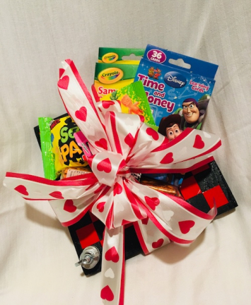 Candy & Checkerboard Bouquet