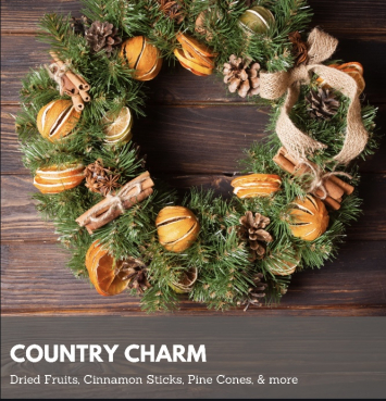 Country Charm Wreath