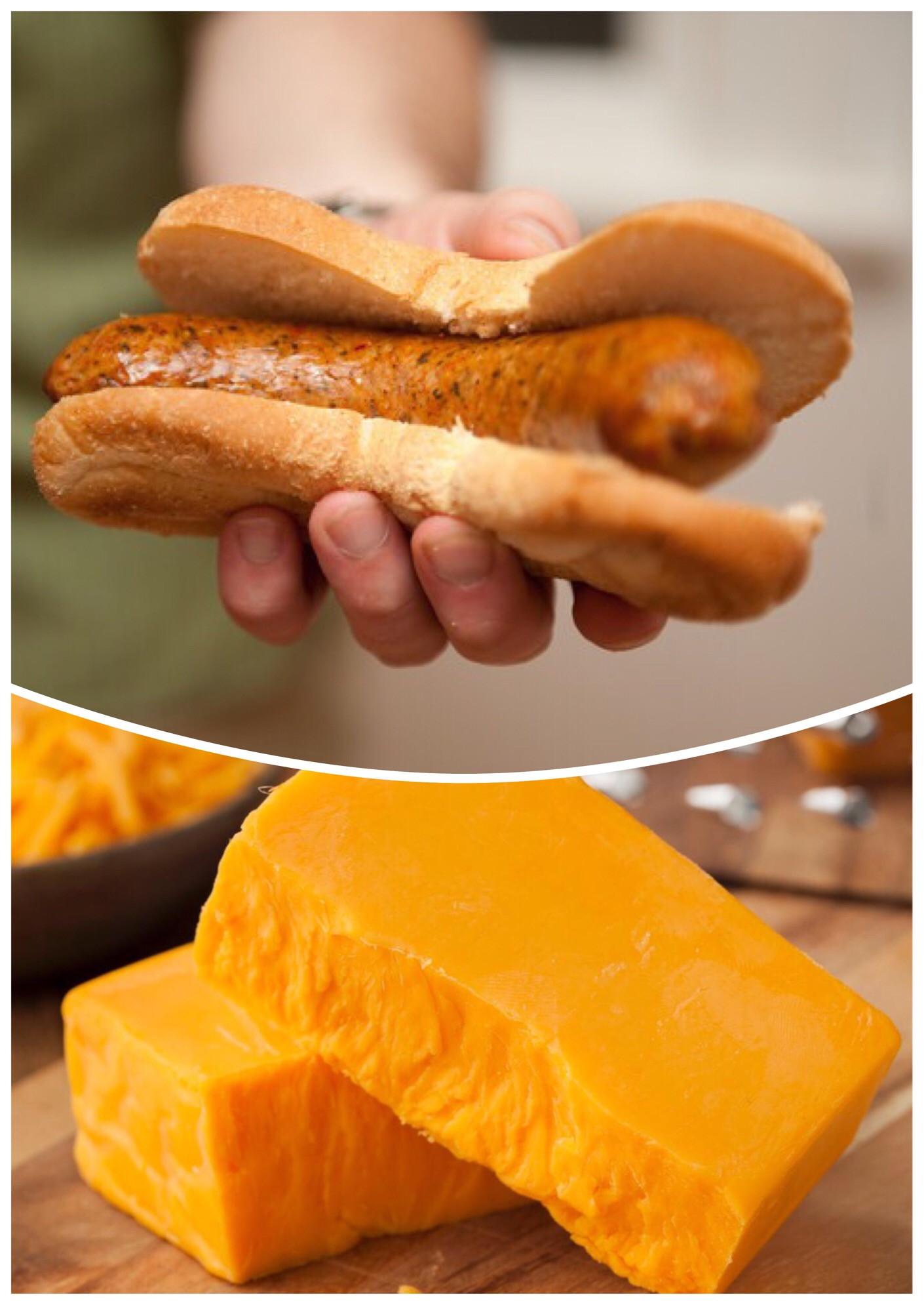 Cheese Brat Links