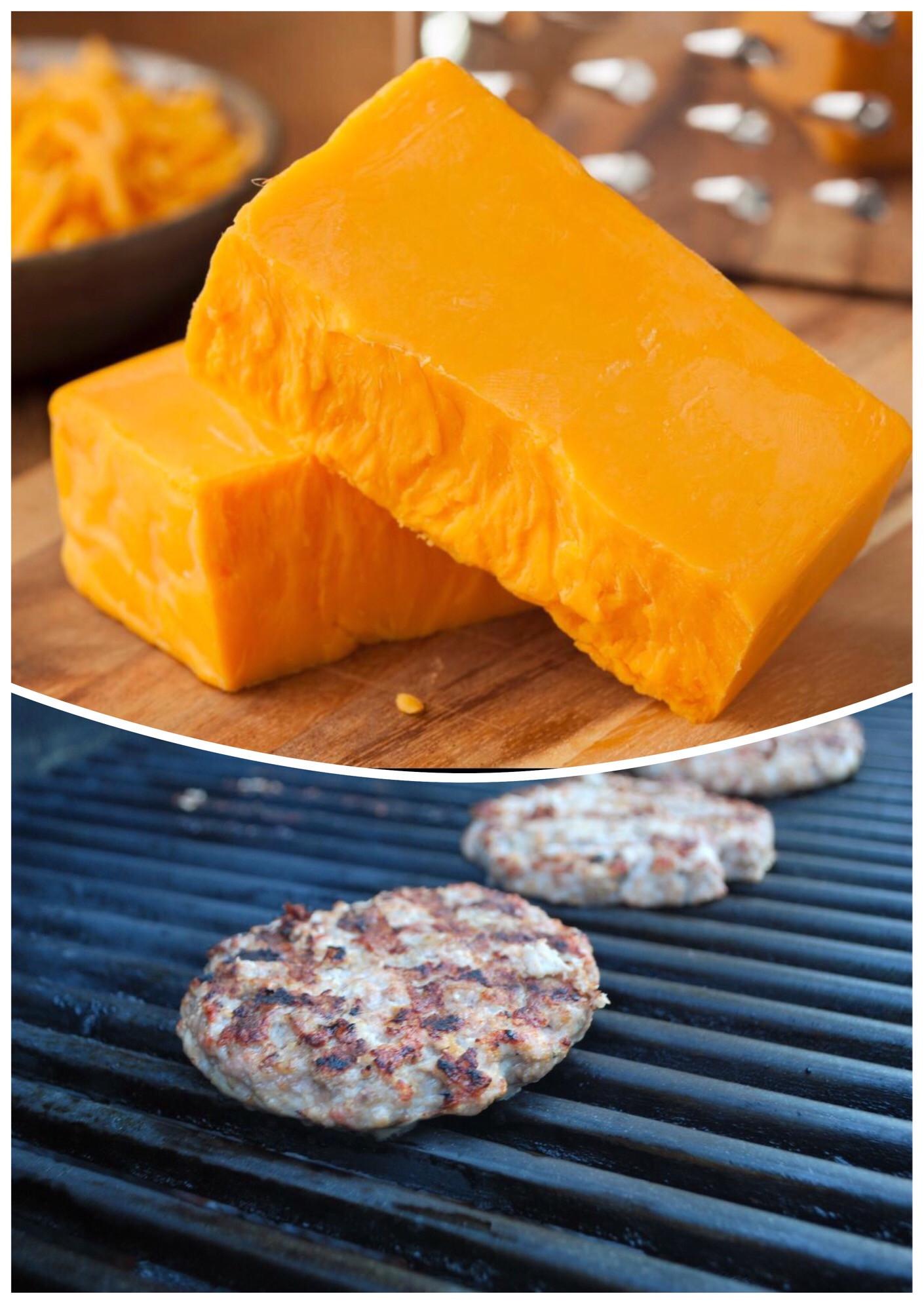 Cheese Brat Patties
