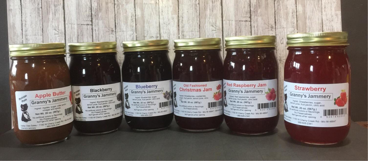 Granny's Jammery Jams & Spreads