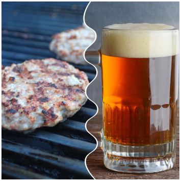 Beer Brat Patties
