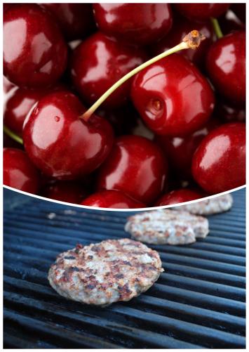Cherry Brat Patties